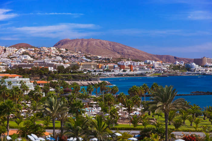 Playa De Las Americas, Tenerife, Canary Islands