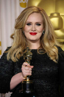 Celebrity Mum nominee Adele