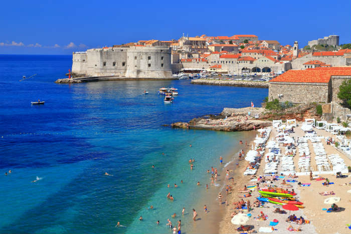 City breaks with beaches-Dubrovnik
