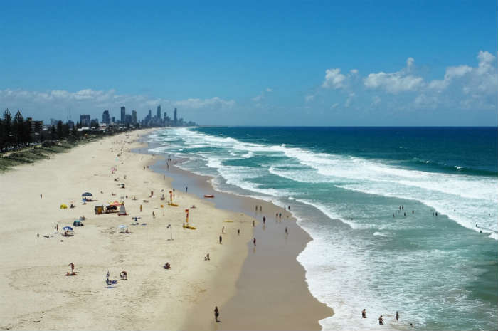 Lifeguard Station in Surfer's Paradise, Australia