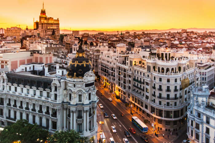 destinations to fall in love with -  Madrid