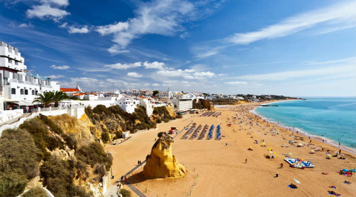 Beach in Algrave, Portugal
