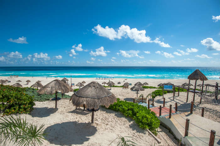 Beach resort, Cancun