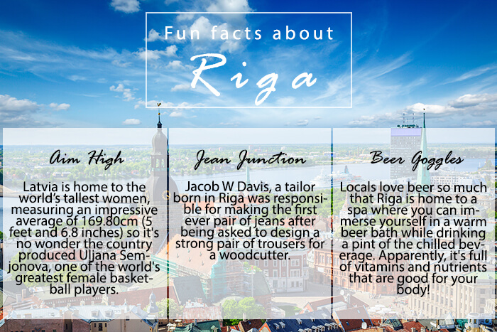 Fun facts about Riga, Latvia