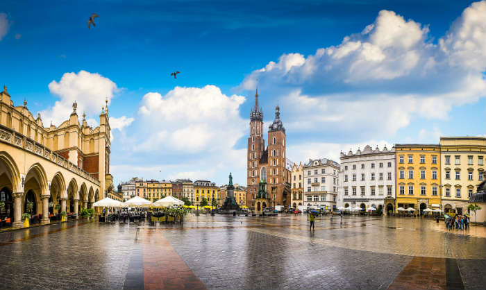 European city breaks-Krakow