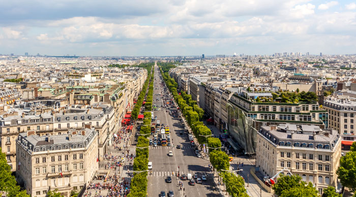 Champs Elysees Paris
