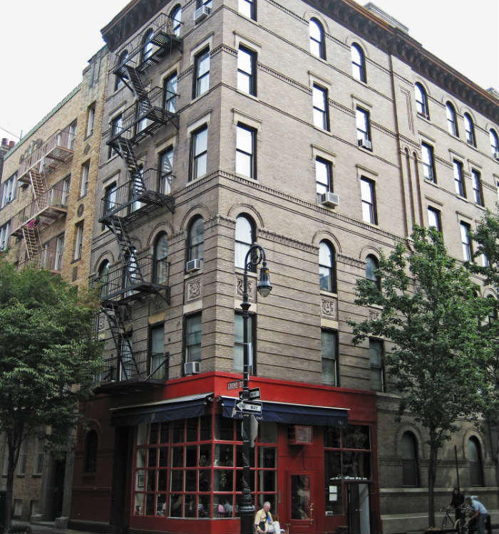 Friends apartment filming location