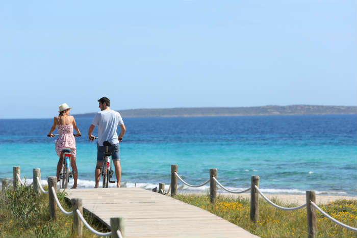 Seeing Formentera by bike