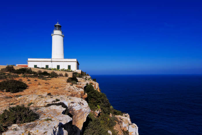 Faro de la Mola lighthouse, Formentera