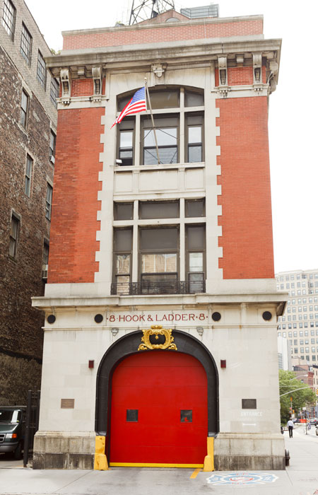 Walking Tours - Ghost Busters Fire Station