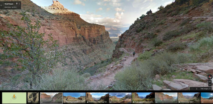 Grand Canyon on Google Maps