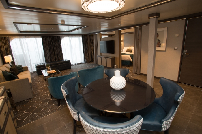 Harmony of the Seas owner's suite