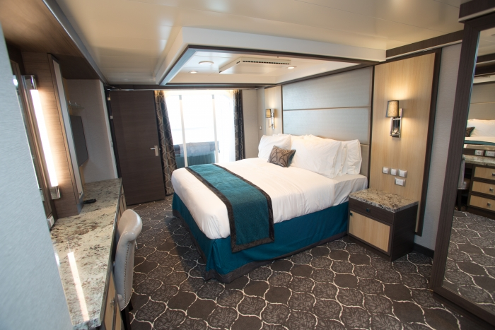 Harmony of the Seas presidential family suite