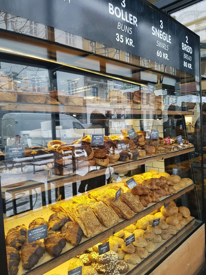 Bakery and pastries in Copenhagen