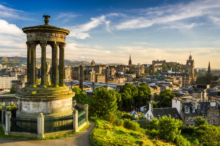 Holiday hotspots - Edinburgh