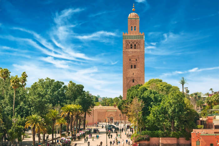 Holiday hotspots - Marrakesh