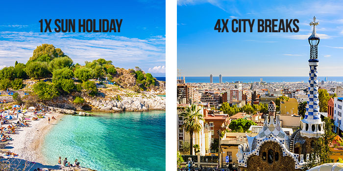 Beach & City Break Holiday Destination