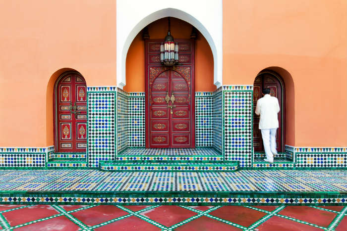 Marrakech building
