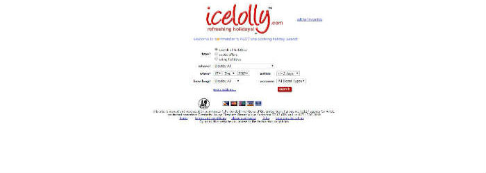 icelolly.com site in 2005