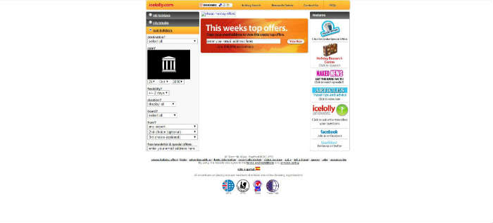 icelolly.com site in 2010