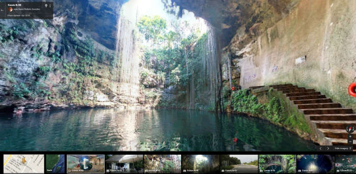 Ik Kil Cenote on Google Maps