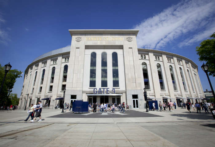 The Yankees Stadium