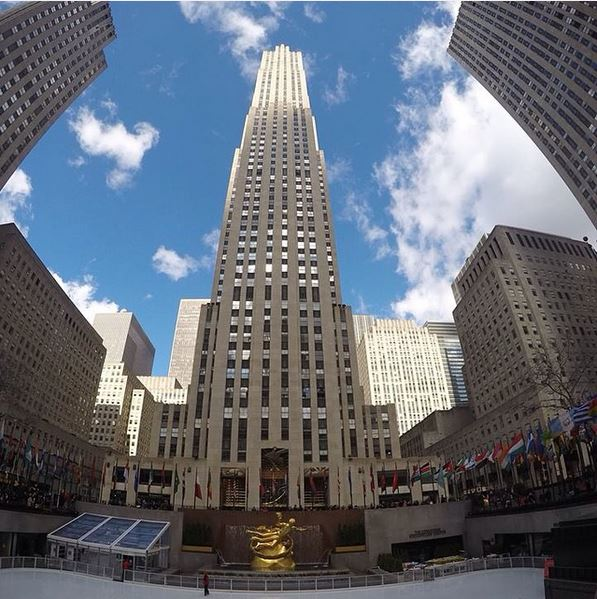 new york on instagram-rockefeller centre