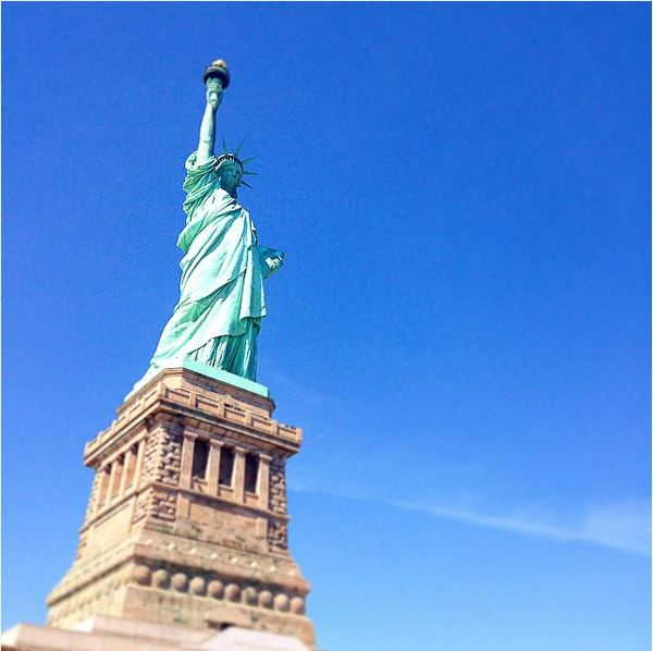new york on instagram-statue of liberty