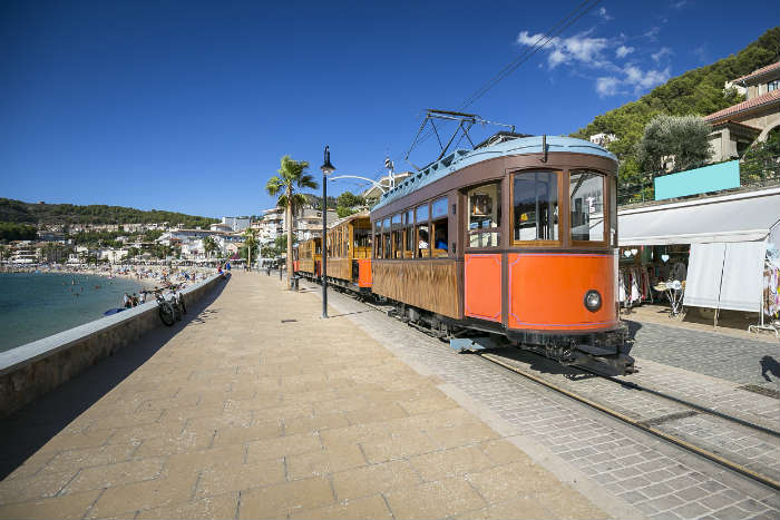October half term ideas-Soller train, Majorca