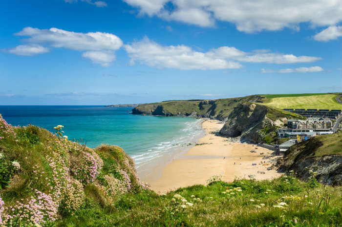 October half term ideas-beach in Cornwall