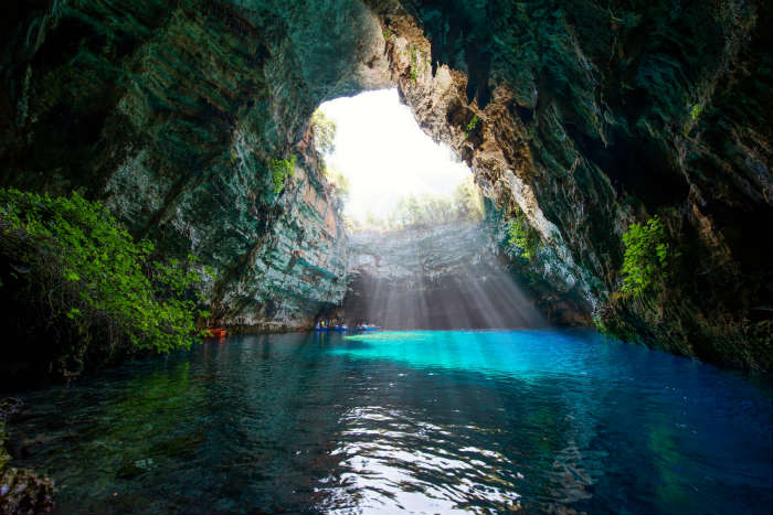 Photos of Greece-Melissani Cave, Kefalonia