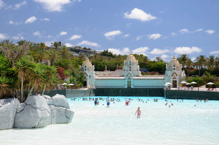 Siam water park in Tenerife