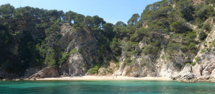 Lloret de Mar Coast
