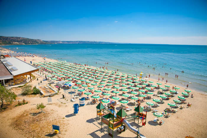 Bulgaria beach-Golden Sands
