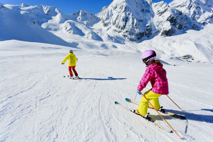 February half term-ski holiday