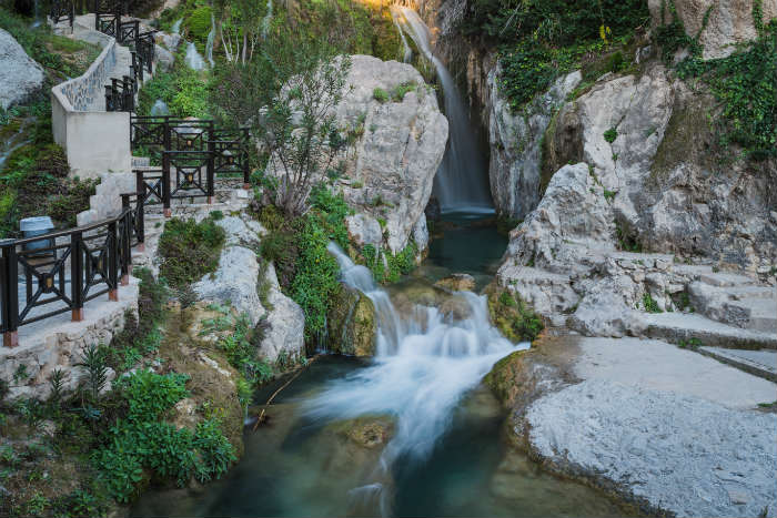 Algar Falls day trip, Costa Blanca