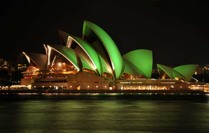 St Patrick's Day in Sydney