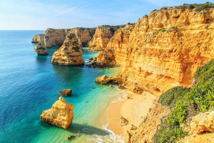 Portugal's Algarve coastline