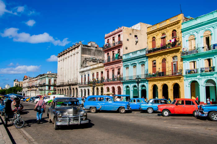 Havana, Cuba-top 2016 destinations