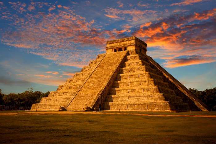 Chichen Itza landmark, Mexico