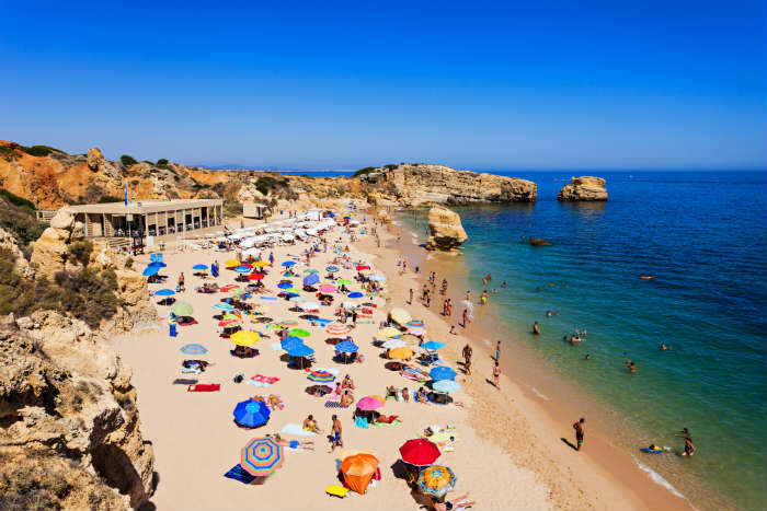 Beach in Algarve, Portugal