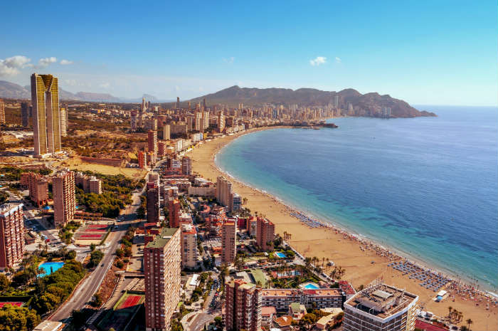 TV show locations-Benidorm