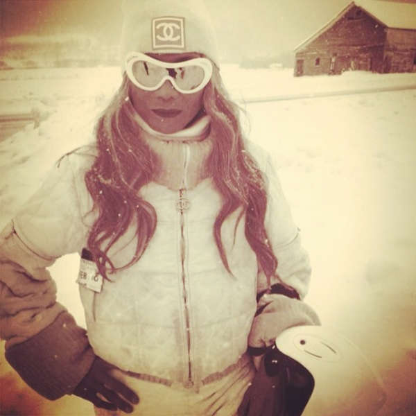 Dressed to impress on the slopes