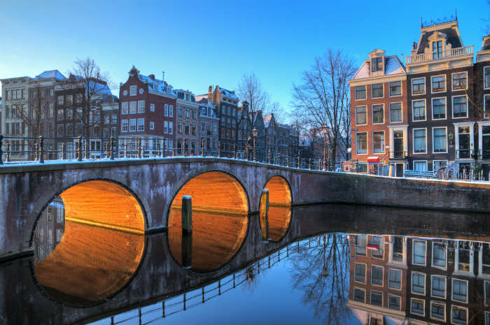 Winter weekend in Amsterdam