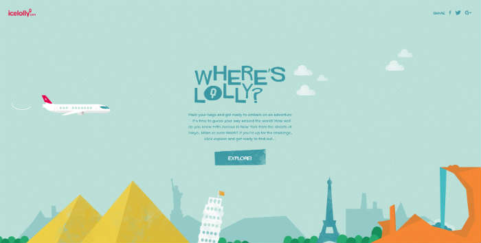 Where's Lolly home page