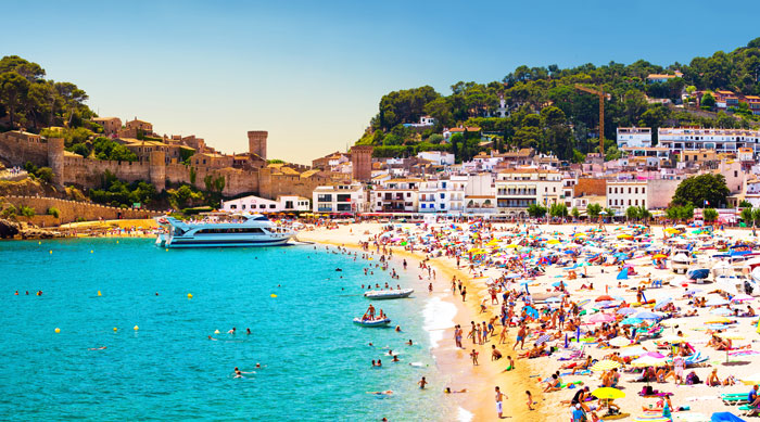 Where's Hot August - Tossa de Mar, Costa Brava