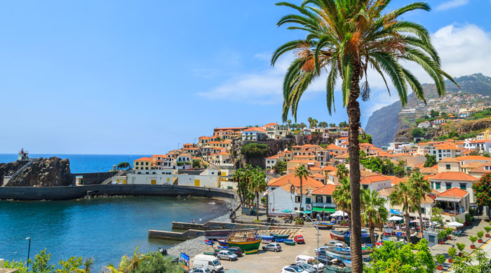 Where's Hot December - Coastline in Madeira