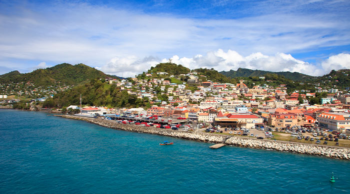 Where's Hot January - Grenada Seafront