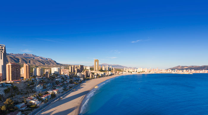 Where's Hot June - Benidorm Coastline