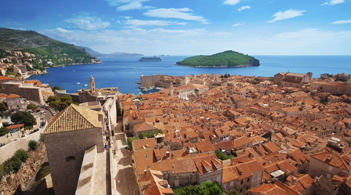 Where's Hot June - Dubrovnik Medieval Town